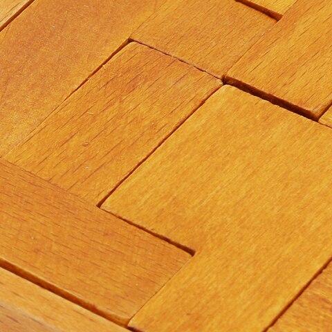 pentominoes solidos quebra cabeca de madeira geometria cerebro