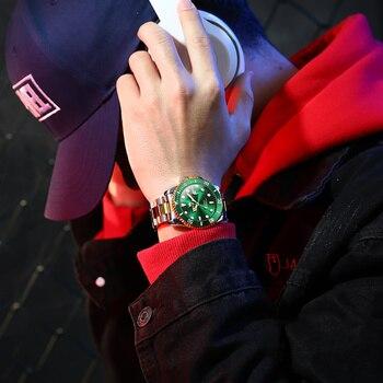 Original Luxury Automatic Watch Men Mechanical Movement Waterproof Sports Top Brand Stainless Steel Wristwatch Reloj Hombre 4