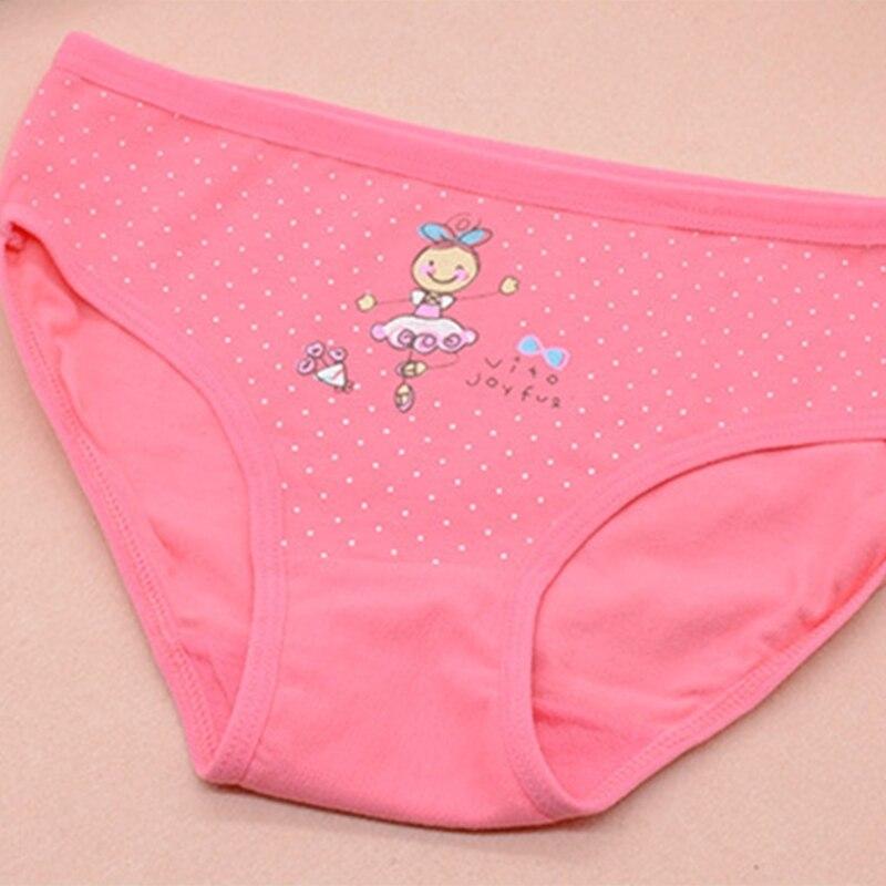 Kids Underpants Cartoon Dance Girl Cotton Triangle Underwear Baby Girls Panties Q1FE