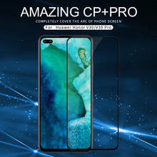 For Huawei Honor V30 V30 Pro Tempered Glass Full Coverage Anti-Explosion Tempered Glass Screen CP+ pro For Huawei Honor V30 2 in 1 full cover 9d tempered glass for huawei honor v30 v30 pro v20 screen protector