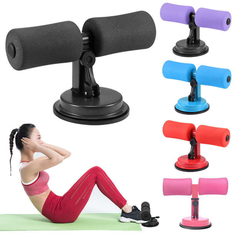 sgfd Gym Fitness Sit Up Bars Abdominal Core Workout Strength Training Adjustable Assistant Equipment Stand Self-Suction for Gym Home