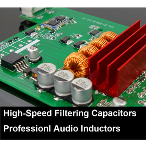 Image 3 - 100W+100W Bluetooth 5.0 APTX HD TPA3116D2 Power Amplifier Board 2.0 TPA3116 PCM5102A DAC Audio NE5532 Equalizer Class D Amp