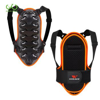WOSAWE dziecięca zbroja motocyklowa powrót ochraniacz kręgosłupa jazda na rolkach jazda na nartach wsparcie pleców kamizelka ochronna dla dzieci kurtki ochronne tanie i dobre opinie CN (pochodzenie) ML324 S M L free size