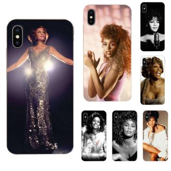 For Sony Xperia Z Z1 Z2 Z3 Z4 Z5 compact Mini M2 M4 M5 T3 E3 E5 XA XA1 XZ Premium TPU Popular Hot Sexy Singer Whitney Houston image