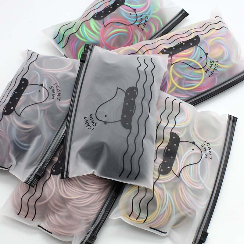 50 Pcs/bag Hair Accessories Women Rubber Bands Scrunchie Elastic Hair Bands Girls Headband Decorations Ties Gum For Hair
