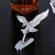 1 шт. автомобильный передний капюшон Eagle, значок с орнаментом, автомобильная передняя крышка, 3D эмблема Eagle, аксессуары для модификации автом...