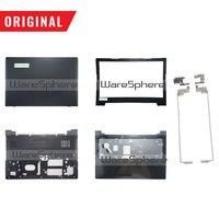 Original für Lenovo Ideapad 300-15 300-15IBR 300-15ISK LCD Zurück Lünette Palmrest Bottom Basis Abdeckung Scharniere 5CB0K14051 5B30K14031