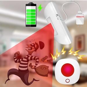Image 5 - Wifi 433MHz kablosuz Strobe Siren ses ve ışık sireni 100dB için G50 W123 PG103 PG168 ev güvenlik WIFI GSM alarm paneli sistemi