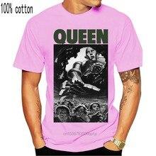 Camiseta de capa completa queen news do mundo 40th aniversário-neu und