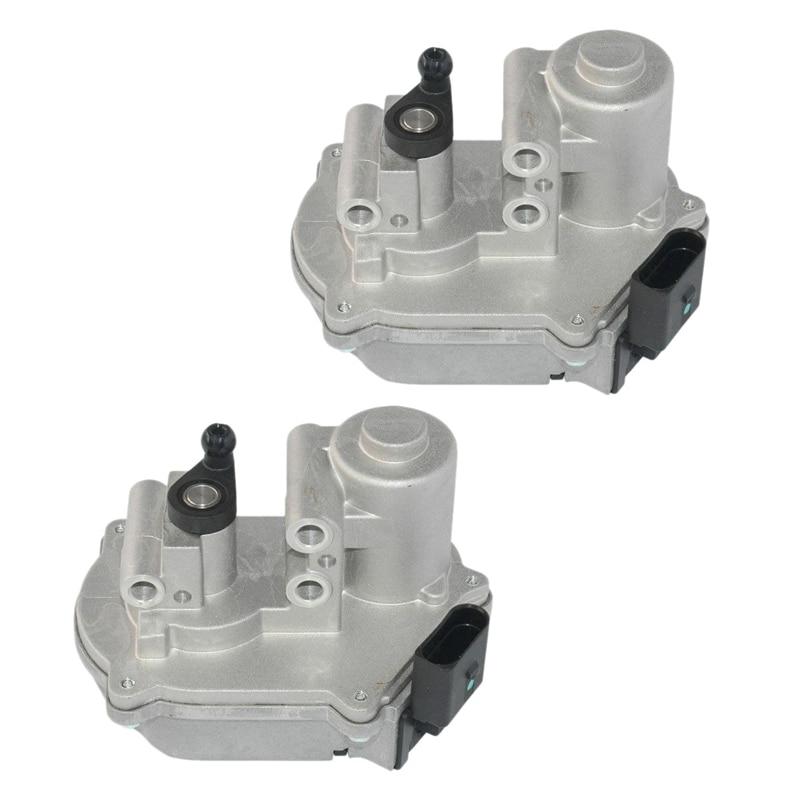 2 Pcs Intake Manifold Flap Actuator For-Audi A4 A5 A6 A8 Q5 Q7 2.7 3.0 TDI A2C53106043