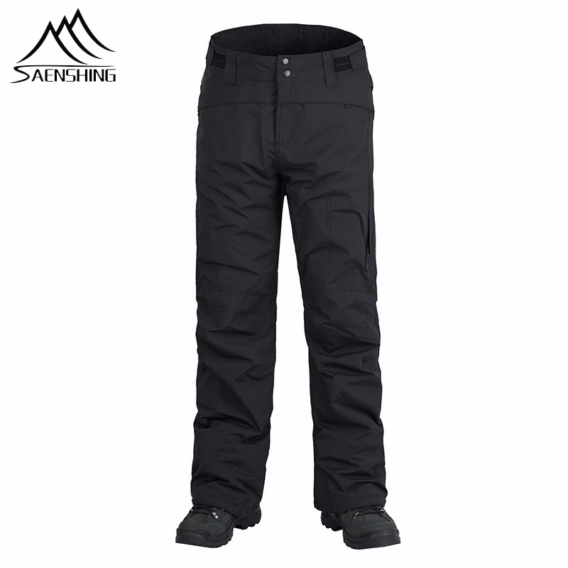 Clearance Sale SAENSHING Winter Ski Pants Women & Men Waterproof Skiing Snowboarding Trousers Windproof Thermal Slim Snow Pants
