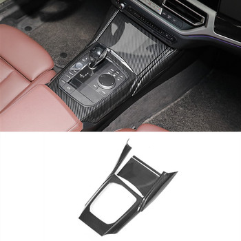 Center Console Gear Shift Frame Decoration Cover Trim 3Pcs For BMW 3 Series G20 G28 2020 LHD ABS Car Styling Interior Modified
