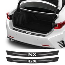 Autocollants de voiture en Fiber de carbone, pour Lexus RX 300 330 IS 250 300 GX 400 460 UX 200 NX LX LS GS ES CT200h, accessoires de voiture