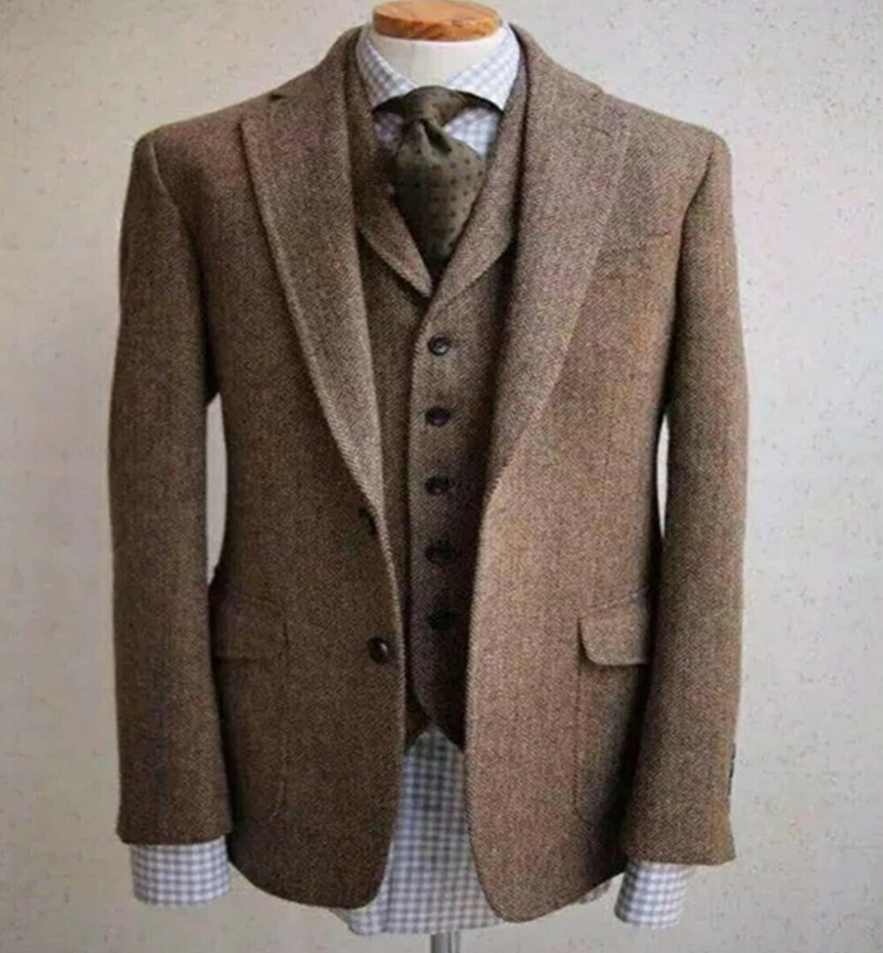 2020-Italian-Style-Suits-For-Men-Vintage-Wool-Herringbone-Classic-Suits-Three-Pieces-Two-Buttons-Notch