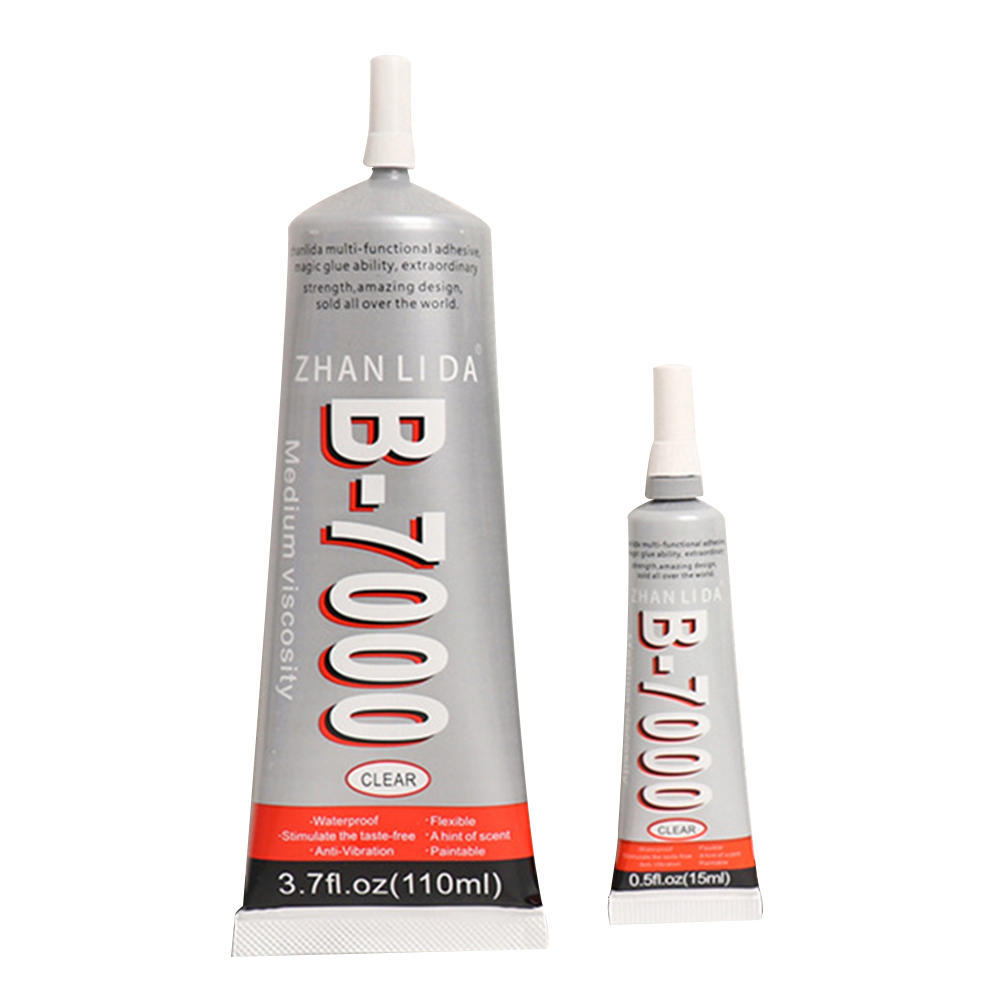 <font><b>15ML</b></font> <font><b>B7000</b></font> <font><b>Glue</b></font> Mobile Phone Touch Screen Super <font><b>Glue</b></font> Wholesale B-7000 Adhesive Telephone Glass <font><b>Glue</b></font> Repair Point Diamond Jewelry image