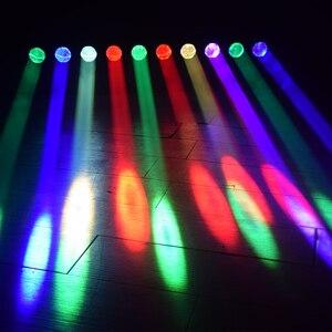 Image 5 - Led単一の制御移動ヘッドスキャンライト 10 × 40 ワットrgbw 4in1DMX512 djプロジェクターライトバーパーティーktvホーム結婚式効果ランプ