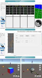 Image 3 - Witmotion bluetooth 2.0 bwt61cl 6 axis sensor ahrs imu mpu6050 digital ângulo de inclinação + acelerômetro giroscópio no pc/android/mcu