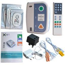 XFT 120C + الإسعافات الأولية جهاز درهم المدرب الآلي الرجفان الخارجية الطوارئ CPR التدريب التدريس عدة لغات اختيار