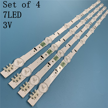 (جديد كيت) 4 قطعة/مجموعة 7LED 647 مللي متر LED قطاع ل سامسونج ue32j5500ak D4GE 320DC1 R2 D4GE 320DC1 R1 BN96 30443A 30442A 2014SVS32FHD