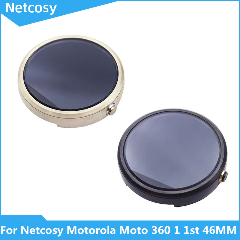 Netcosy For Motorola Moto 360 1 1st 46MM LCD Display+Touch Screen Assembly For Full Screen For Moto 360 Gen 1st LCD Screen