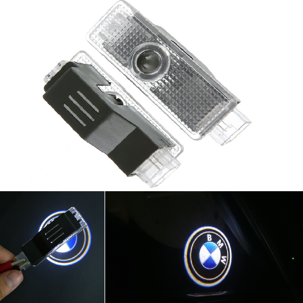 2X For BMW Led Logo Car Door Welcome Light For BMW E60 E61 X5 E70 E90 E91 F10 F30 X1 X3 E92 M3 F01 F02 F03 F04 X6 Car Styling