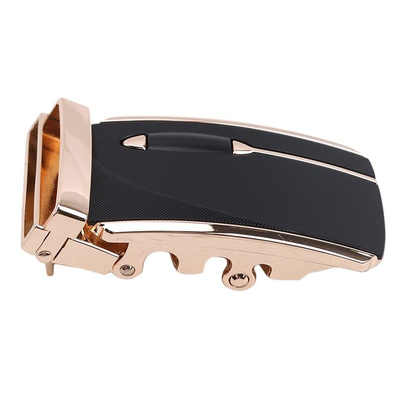 Men's Trousers Gold Silver Buckle Business Buckle For Belt Alloy Automatic Buckle Belt Waistband Unique Men Apparel Accessories