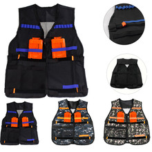 Vest for Nerf N-Strike Elite-Series Toys Jacket Gift Christmas-Gift Birthday-Party Tactical
