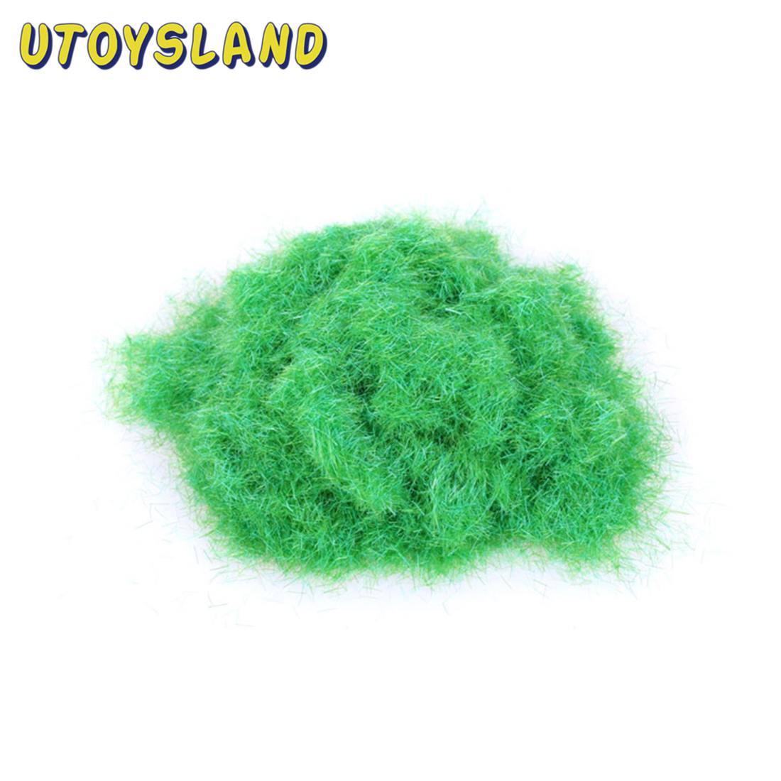 30g Artificial Grass Powder DIY Railway Model Sand Table Model Decor Micro Fairy Garden Landscape Decor DIY Accessories 1Bag