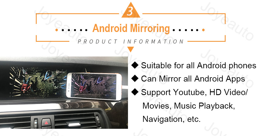 2 Android Auto Mirroring