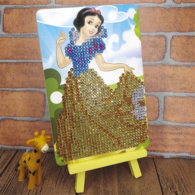 DIY Craft Kids Toys Creative Cartoon Mosaic Material 5D Puzzle Girls Toys Elsa Princess Diamond Painting Educational Toys SG1