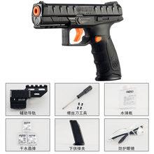 Beretta-pistola de juguete de agua de alimentación para niños, arma de combate Manual CS, carga Manual