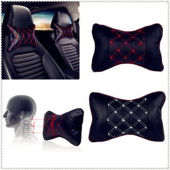 Car Pillow Headrest Seat Head Neck Rest Cushion Pad for Kia Provo K9 Cross Carens CUB Trackster Ray K2 Naimo Pro Venga image