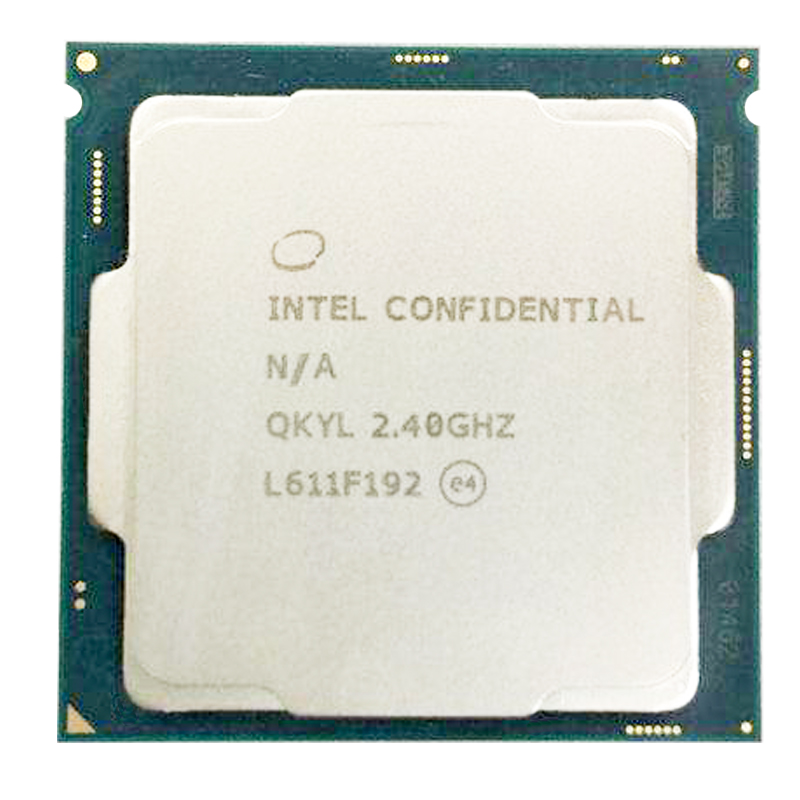 Intel QKYL Engineering Version Of  I7 7700T 7700 ES I7 35W 4 Core 8 Threads 2.4G Core 3.0G  Industrial Computer
