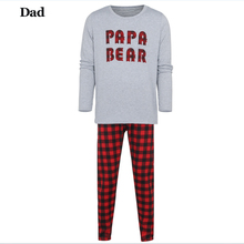 Family Christmas Matching Red Gingham Pajamas