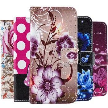 Перейти на Алиэкспресс и купить Модный кожаный флип-чехол с розой для Huawei Honor 8A 8S 8C 8X 10i 20 10 Lite P30 P20 7C 7A Pro Y9 Y5 2018 Y7 Y6 2019