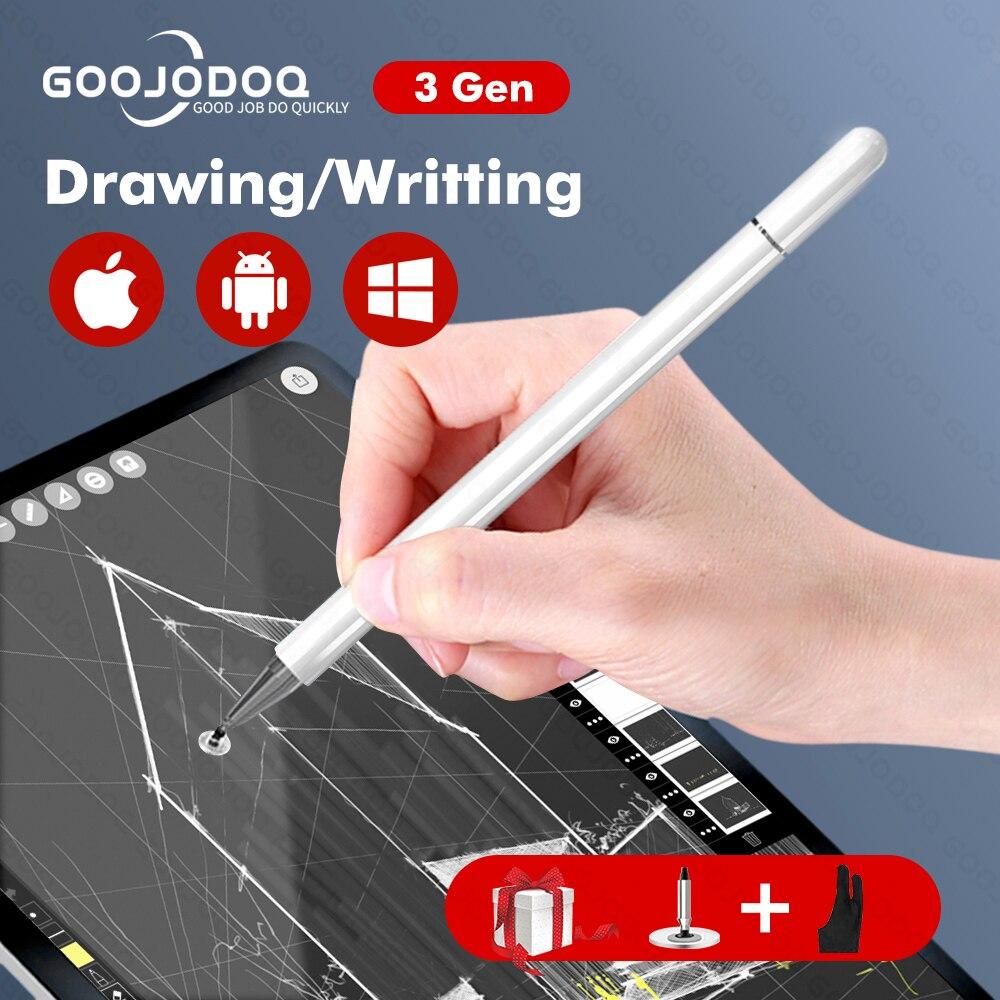 Стилус для Android IOS Apple, карандаш, стилус для планшета iPad, карандаш Xiaomi Samsung, сенсорная ручка, стилус для телефона