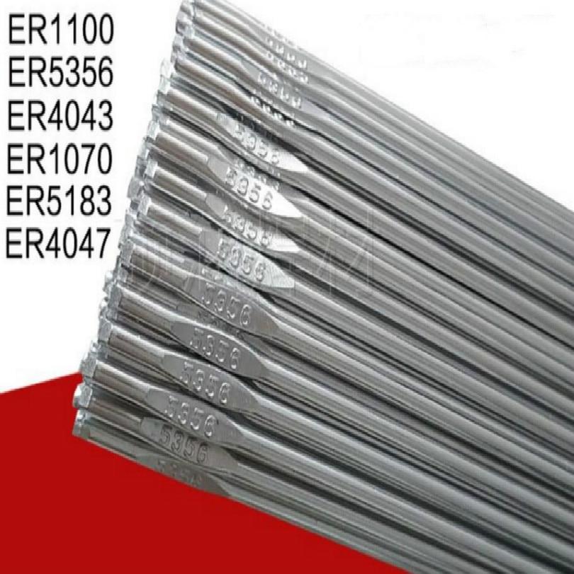 1.6MM 2MM 2.4MM 3MM TIG ER4047 Aluminum Solder Aluminum Welding Aluminum Silicon Alloy Welding Rods Free Shipping