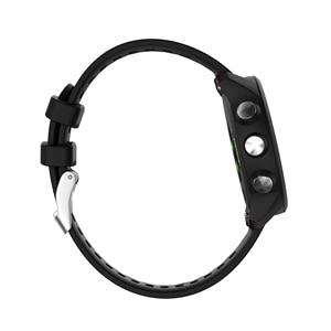 Image 2 - עבור Garmin 245 רצועת WatchBandS סיליקון כפתור רשמי ספורט רצועת עבור Forerunner 245 M/645/Vivoactive3/Vivomove HR צמיד