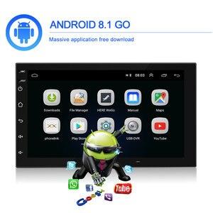 Image 3 - Podofo 2 din Android 9.1 Car Radios GPS Multimedia Player Universal auto Stereo For Volkswagen Nissan Hyundai Kia Toyota Mazda