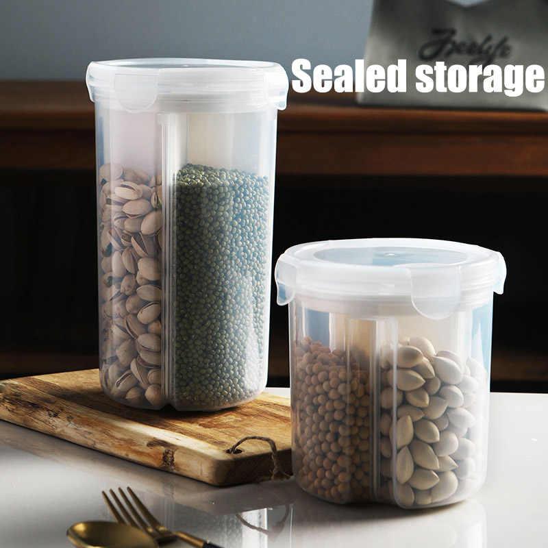 Домашняя кухонная для хранения банка герметичная анти-Влага сортировки сетки бобы XH8Z
