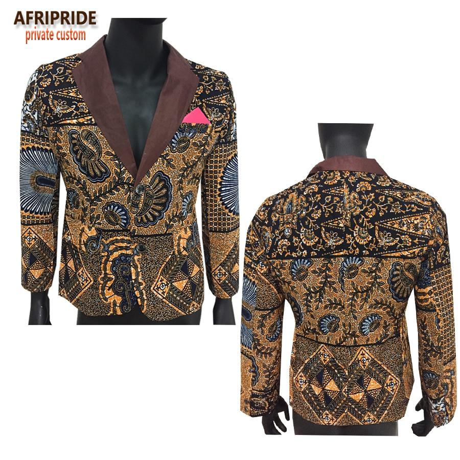 アフリカのファッションスタイルメンズスーツジャケットアフリカ服最新のコートのデザインプリント綿ワックスプライベートカスタムプラス sizeA731401  グループ上の ノベルティ & 特殊用途 からの アフリカ 服 の中 2