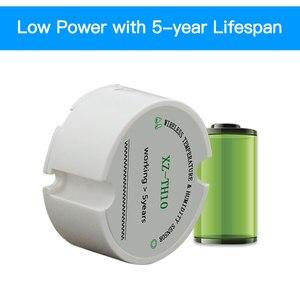 Image 4 - Logiciel gratuit 868 capteur dhumidité de la température sans fil 433mhz capteur dhumidité en temps réel température humidité enregistreur de données moniteur