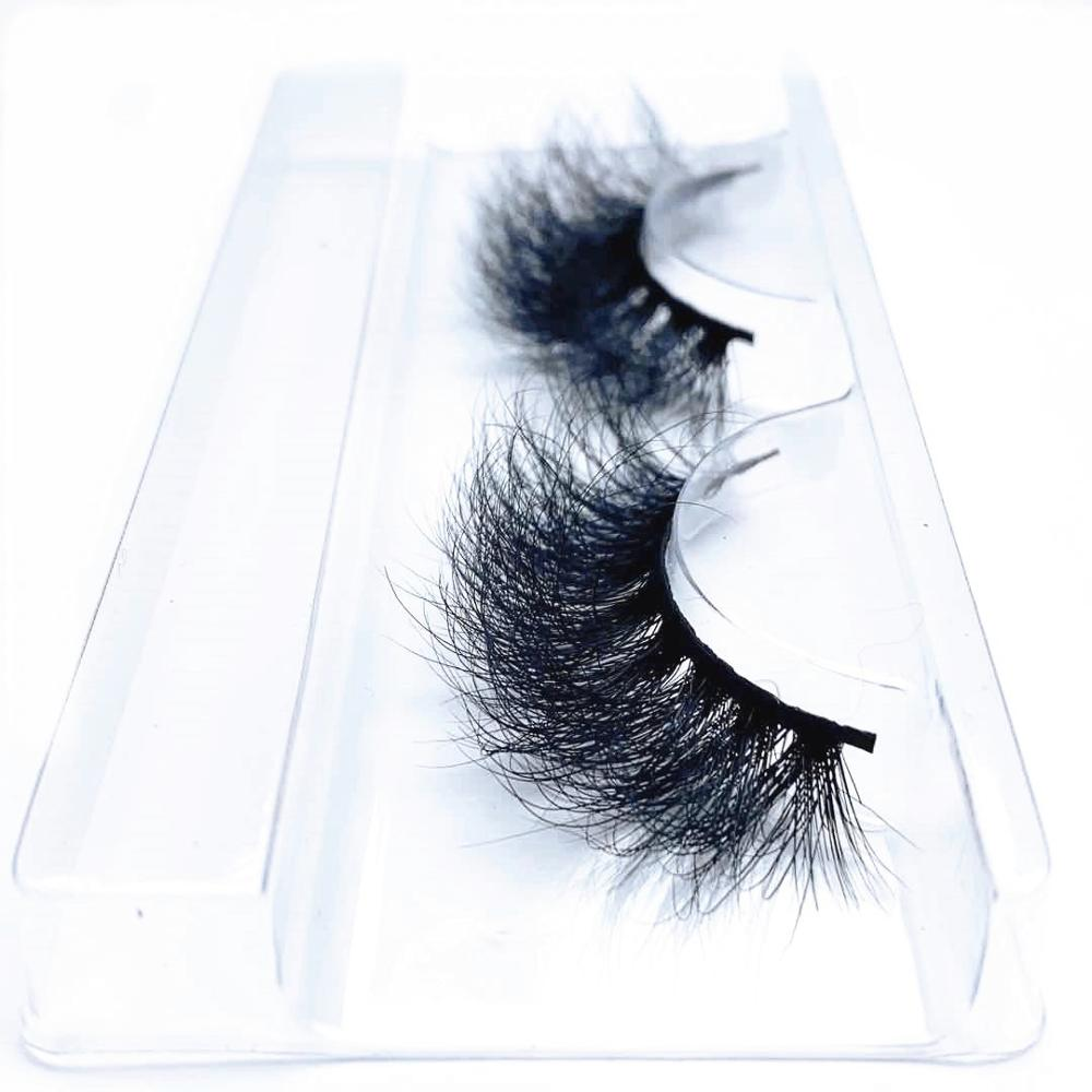 Morwalendi Fluffy Mink Eyelashes Curly Mink Lashes Full False Eyelashes Reusable Cilios Gorgeous For Makeup