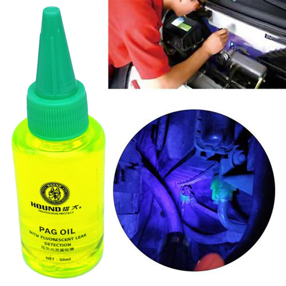 Universal Automobile Fluorescent Oil Leak Detector Test UV Dye Agent R134a Refrigerant Gas A/C Air Conditioning Repair Tool