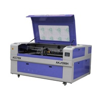 Metal cutter ball screw CO2 laser wood cutting machine price in China Acctek