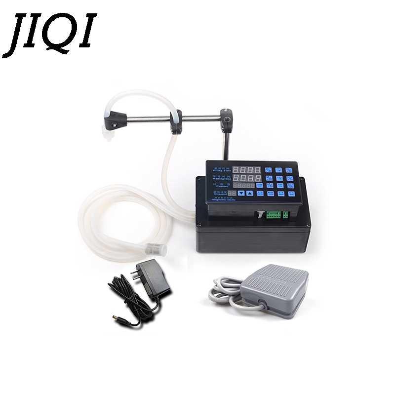 Jiqi電気液体充填機ミニボトル水フィラーデジタルポンプ香水ドリンク水ミルクオリーブオイル 110v 220v