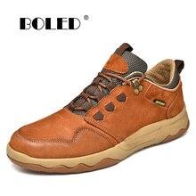 Zapatos de estilo Vintage de cuero genuino para hombres, zapatos planos de moda, zapatos informales antideslizantes con cordones para hombres, zapatillas de deporte de alta calidad para hombres