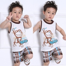 Toddler Clothing Kids Baby Boys Summer Outfits T-shirt Tops+Pants Clothes Set 2PCS Outfit