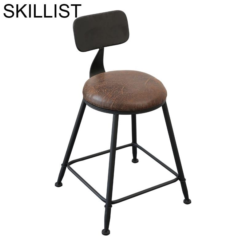 Sandalyesi Silla Para Barra Banqueta Todos Tipos Sedia Taburete Vintage Cadeira Stool Modern Tabouret De Moderne Bar Chair