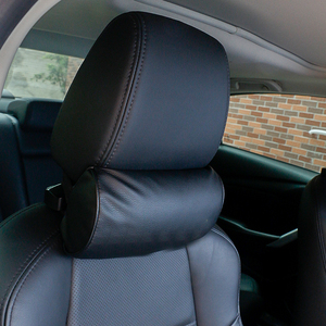 Image 3 - 1 Pcs Car Styling Seat Neck Pillow Protection PU Auto Headrest Support Rest Travelling Car Comfortable Headrest Neck Pillow
